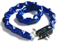 fietsslot Blue Chain